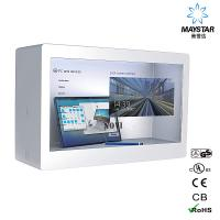Modern Design Transparent LCD Monitor / See Through LCD Panel Durable Manufactures