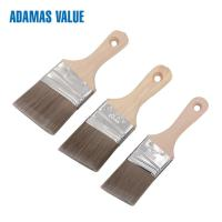 Angled paint brush,small paint brush,paint brush wood handle  with synthetic filament short wooden handle CF1832112 Manufactures