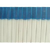 100% Polyester Dryer Spiral Wire Mesh Screen With Large / Medium / Small Loop Manufactures