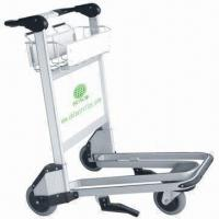 Airport Luggage Trolley/Carts, Made of Aluminum Alloy, with 200kg Loading Manufactures
