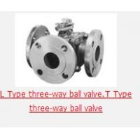 Flange Connecting three-way ball valve Manufactures