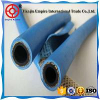 Blue 15 mm  oxygen and acetylene delivery Twin Line Welding fiber woven flexible rubber Hose Manufactures