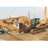 Second Hand 320cl Caterpillar Excavator Full Power Engine With Hydrolic System Manufactures