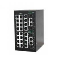 Quality DIN Rail Gigabit Managed Industrial Ethernet Switches for sale