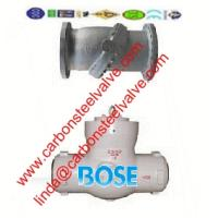 China A217-C5/WC6/WC9 butt welded check valve on sale