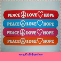 most popular silicone slap wristbands Manufactures