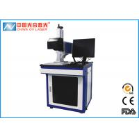 20W Table Fiber Co2 Laser Marking Machine for Bottle Cap QR Code Manufactures