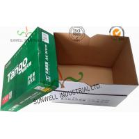 Corrugated Cardboard packaging Office Paper Box With Handle Practical Essential B Flute Manufactures