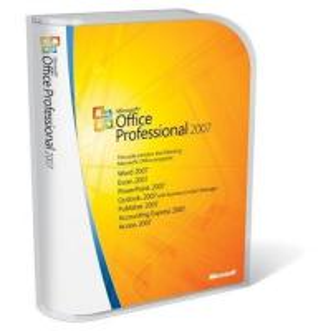 China microsoft office 2007 professional retial box on sale