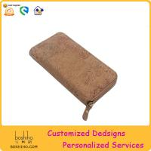 BOSHIHO New Item Eco friendly cork fabric women purse 2015 hot sale Manufactures