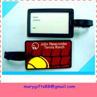 soft pvc travel luggage tag Manufactures