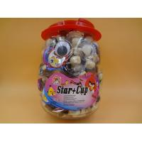 Happy Cute Cup Chocolate Chips Cookies For Children / Kids Penguin Jar Manufactures