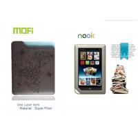Customized Tablet Super Fiber Mofi Protective Leather Nook Case, Bag With Laser Logo Manufactures