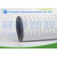 Insulated Foam Pipe faced with with aluminum foil for heat insulation Manufactures