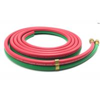 Grade R 3 / 16 Inch x 25 FT Rubber Twin Welding Hose For American Market Manufactures