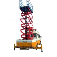 11 Meters Truck Mounted Scissor Lift For Work At Height Man Lift 500Kg Manufactures