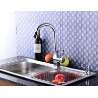 Chrome plated streamline sleek design faucets kitchen fittings water taps Manufactures
