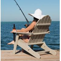 China plastic adirondack folding anglers chair on sale