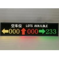 Ultra Bright Inside LED Car Parking Screen Showing Direction / Parking Space Manufactures