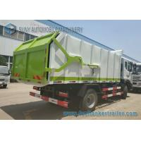 Buy cheap Dongfeng 5 - 7m3 Diesel Hooklift Garbage Trucks , 4x2 Drive Refuse Truck from wholesalers