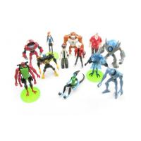 China Powerful Ben 10 Anime PVC Figures Injection molding Toys For Souvenir Gifts on sale