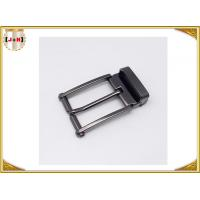 Nickel-Free Zinc alloy Metal Belt Buckle / Center Bar Belt Buckle For Men Manufactures