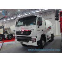 China Hydraulic 10 Cbm Cement Mixer Truck HOWO T7H 360 Hp 6X4 ZF Reducer on sale