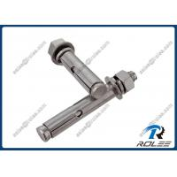 316 / A4 Stainless Steel Hex Nut Expansion Concrete Sleeve Anchors Manufactures