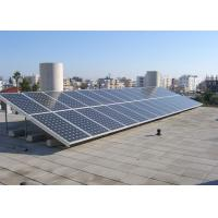 Building 5 KW Residential Solar Power Systems , Solar Panel System For Home Manufactures
