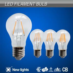 LED filament  bulbs A60 4W Manufactures