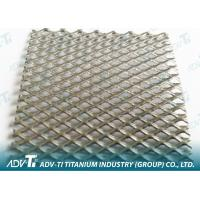 PT MMO Coated Titanium Mesh Grade 1 Use For Water Ionizer Manufactures