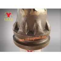 125mm Height Rock Auger Teeth Eight Piece Robe With Tungsten Carbide Material Manufactures