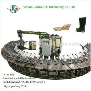 China Polyurethane PU Injection molding machine making shoe soles on sale