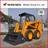 Strong energy 2ton mini wheel skid steer loader Manufactures