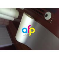 Custom Size Polyester Laminating Film , 18 - 250 Micron Thermal Matte PET Film Manufactures