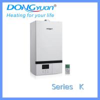 One heat exchanger wall hung gas boiler for room heating and shower hot water Manufactures