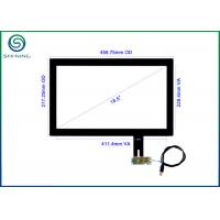 "18.5"" Capacitive Touch Panel 16:9 Wide Screen With USB Interface, Plug-and-play Auto Calibration Manufactures"