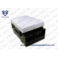China 200W Powerful Waterproof WiFi Bluetooth 3G Mobile Phone Jammer With Directional Panel Antennas on sale