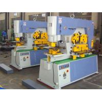 Multi Function Hydraulic Ironworker 900KN Cuttign Angle Steel Manufactures