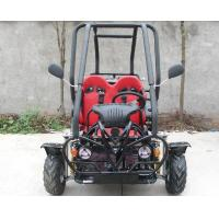 Small 3 Speed 110cc Go Kart Buggy Two Seater Atv With CDI Electirc Start Manufactures