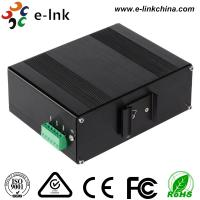 Quality Manageable Industrial Ethernet Media Converter 10 / 100 / 1000M SFP Combo for sale