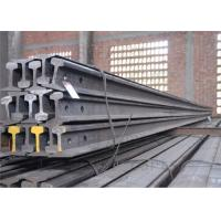 High Tensile Strength Train Track Steel , Base Dimension 79.37mm Railway Track Material Manufactures