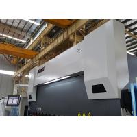 Safety PLC Control 400 Ton Press Brake , Hydraulic Metal Brake 4 Axis With Delem DA58T Manufactures