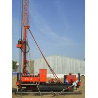 Full Hydraulic Jet Grouting Drilling Rig vice winch and electrical control power head Manufactures