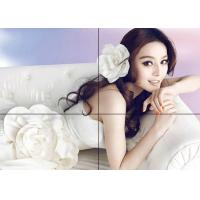 China 2X2 Wall Mounted Seamless LCD Video Wall Signage 49 Inch With 500 Cd/㎡ Brightness on sale