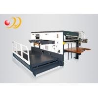 China Semi - Automatic Die Machines For Cutting Paper Flat To Flat on sale