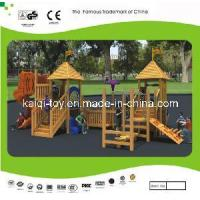 Nice Looking Wooden Series Outdoor Playground Equipment (KQ10156A) Manufactures