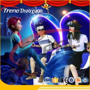 220v Virtual Reality Double 9d VR Simulator Single / Triple / Double Passenger CE