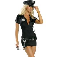 China Hot Pursuit Cop Costume Party Adult Costumes for Carnival Christmas Halloween on sale