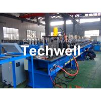 Storage Pallet Shelving and Racking Upright Roll Forming Machine for 80 / 90 / 100 / 120mm Upright Rack Profiles Manufactures